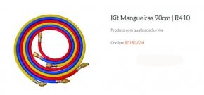 Kit Mangueira Manifold 90CM para R410 Suryha 80150.034