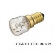 Lampada para Fogão Electrolux 127v Original 80000597