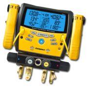 Manifold Digital Fieldpiece com 4 Portas e Vacuometro Wireless Sman460
