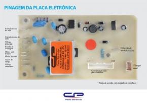 Placa Eletrônica Potencia Lavadora CP Eletrônica 1452