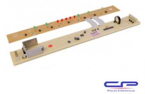 Placa Eletrônica Lavadora Brastemp CP Eletrônica 206