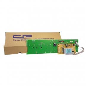 Placa Eletrônica Lavadora Brastemp Potência e Interface Versão 3 CP Eletrônica 1044