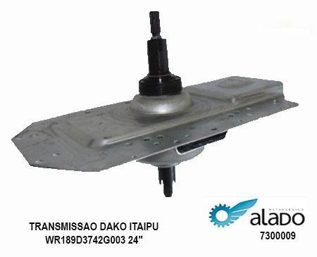 Mecanismo Transmissao Dako Itaipu Wr189d3742g003 24 Alado 7300009