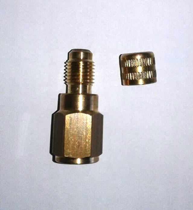 Adaptador Manifold R410A 1/4
