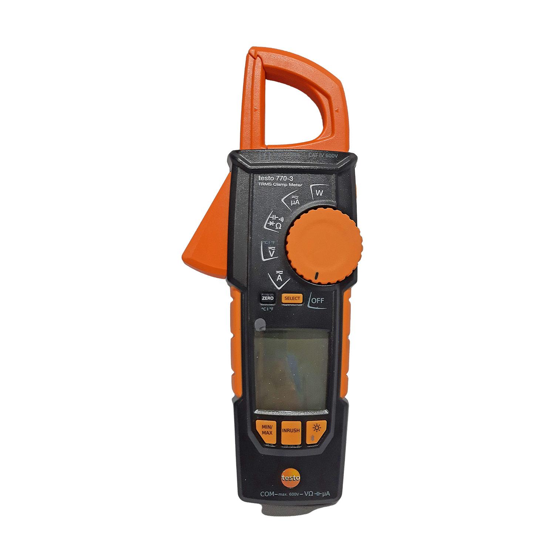 Alicate Amperímetro para Medição Corrente Elétrica Testo 770-3