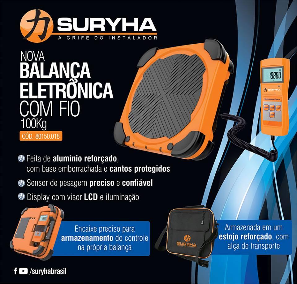 Balança Eletrônica Com Fio 100kg  Suryha 80150.018