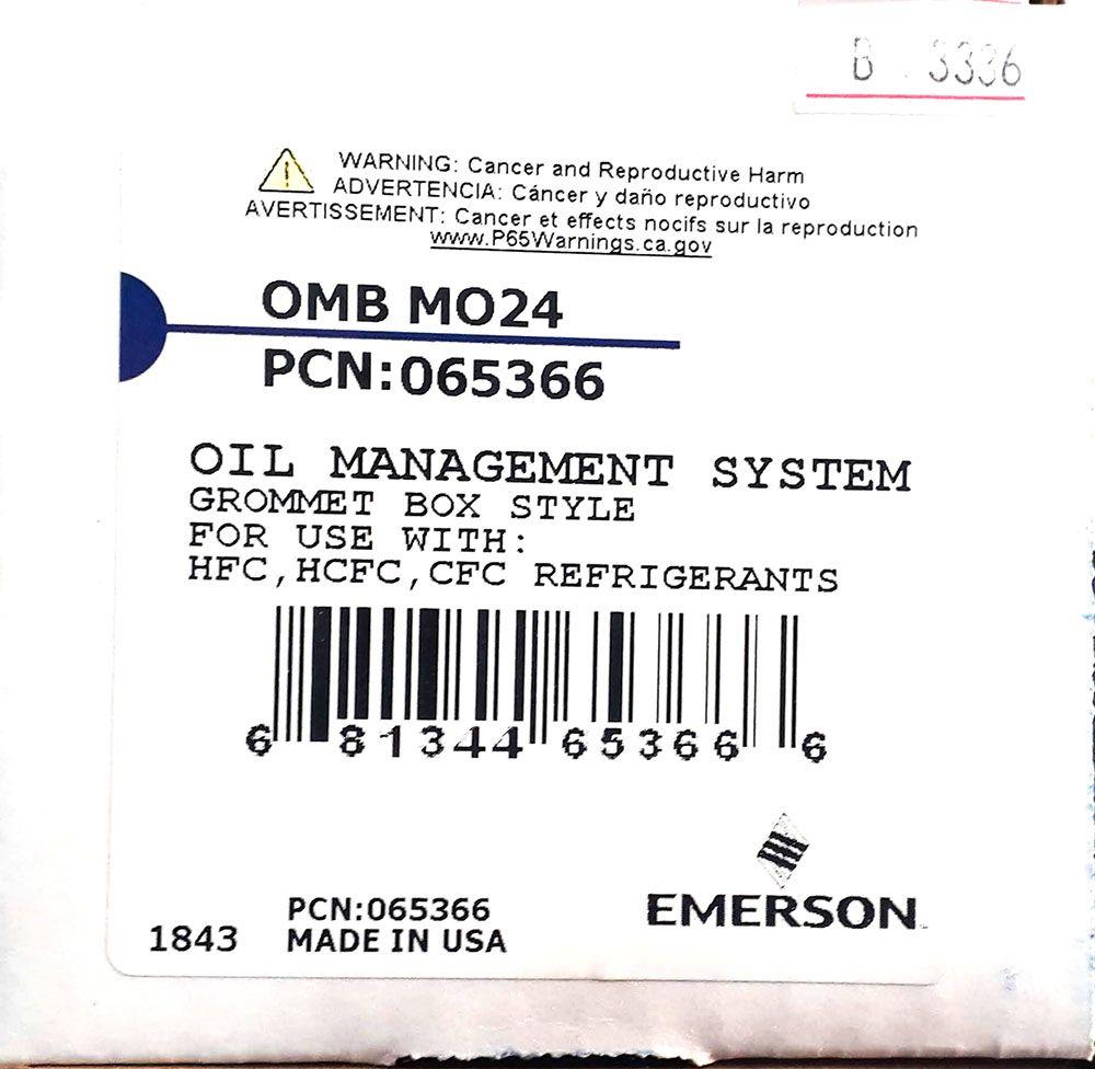 BOIA NÍVEL DE ÓLEO EMERSON OMB-MO1 PCN 065366 TRAX OIL
