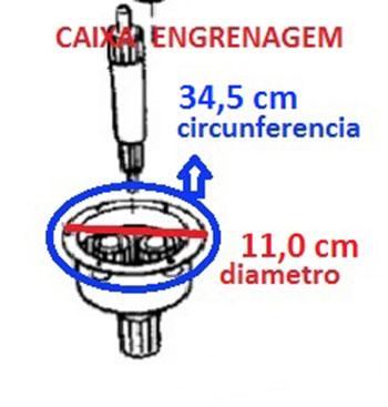 Caixa Engrenagem Lavadora Brastemp/Consul Alado 7112105