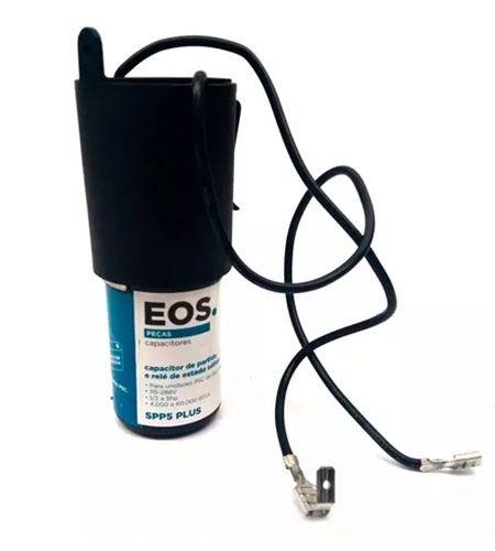 Capacitor de Partida 1/2 a 10hp de 4.000 A 120.000 Btu´s C/ Rele EOS