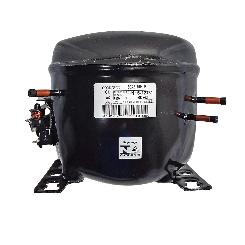 Compressor Embraco 1/5+ 127v R134 Egas70hlr