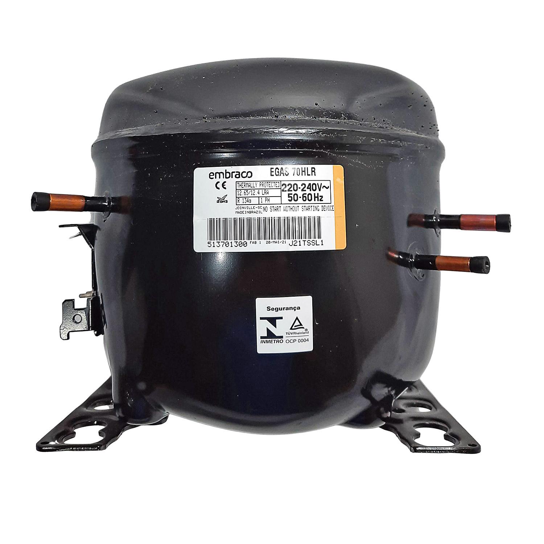 Compressor Embraco 1/5+ 220 R134 Egas70hlr