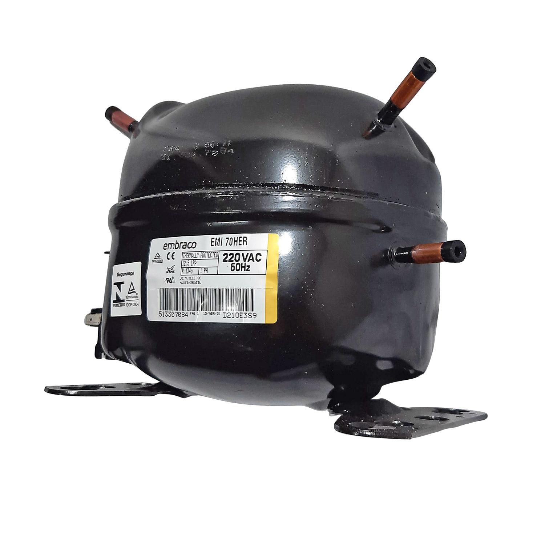 Compressor Embraco 1/5 220v R134 Emi70her
