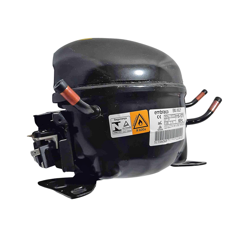 Compressor Embraco 1/6 127v R600 Emu60clp