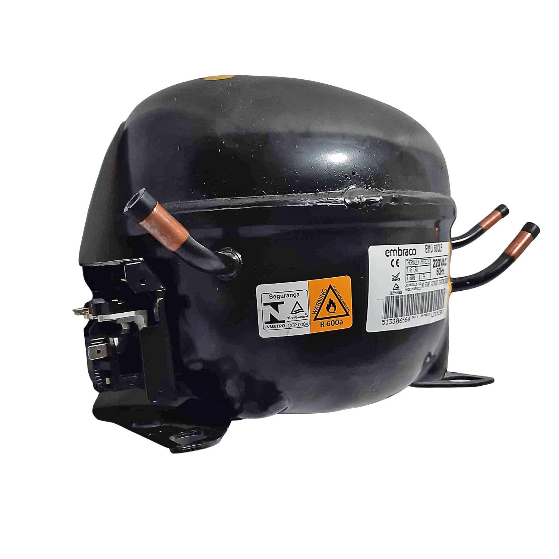 Compressor Embraco 1/6 220v R600 Emu60clp
