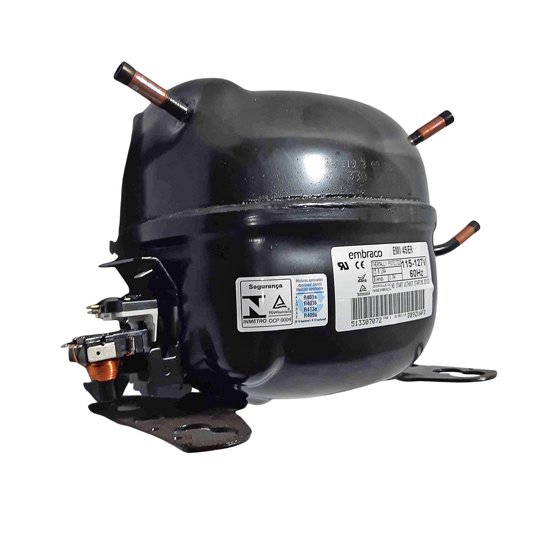 Compressor Embraco 1/8 127v Blends Emi45er