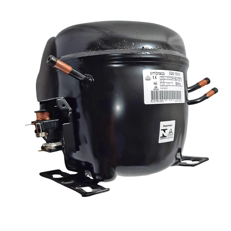 Compressor Embrsco 1/3 110v R134 Egas100hlr 51370128197sc