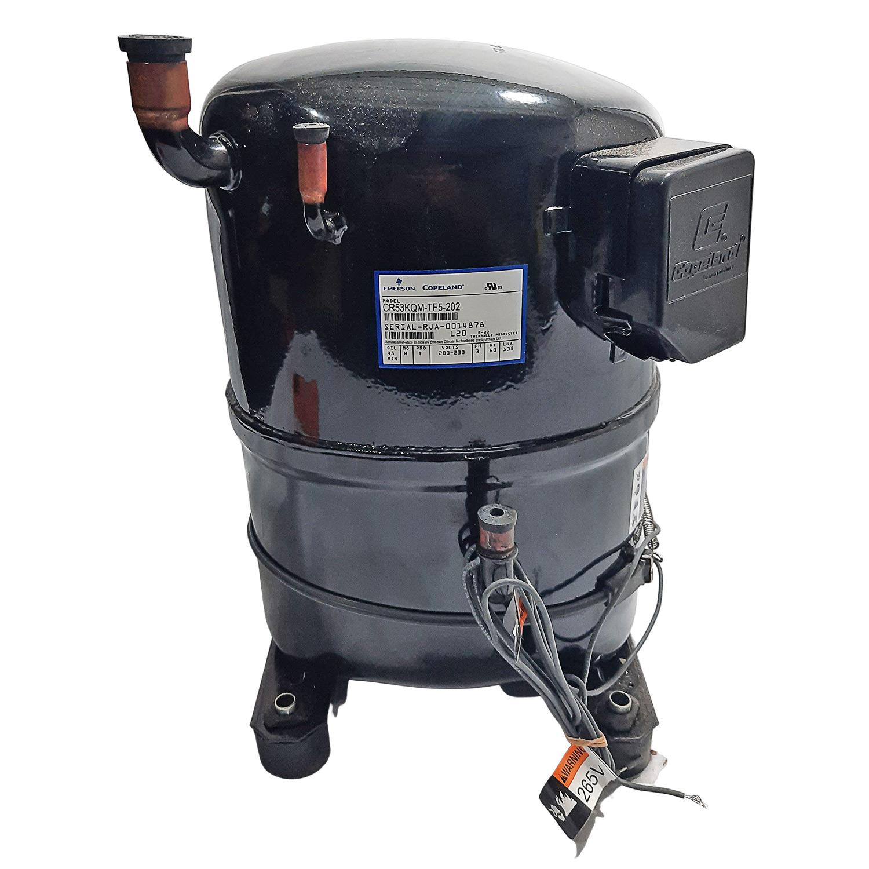 Compressor Hermetico Copeland CR53KQM 4,42hp 220v Trifásico R22