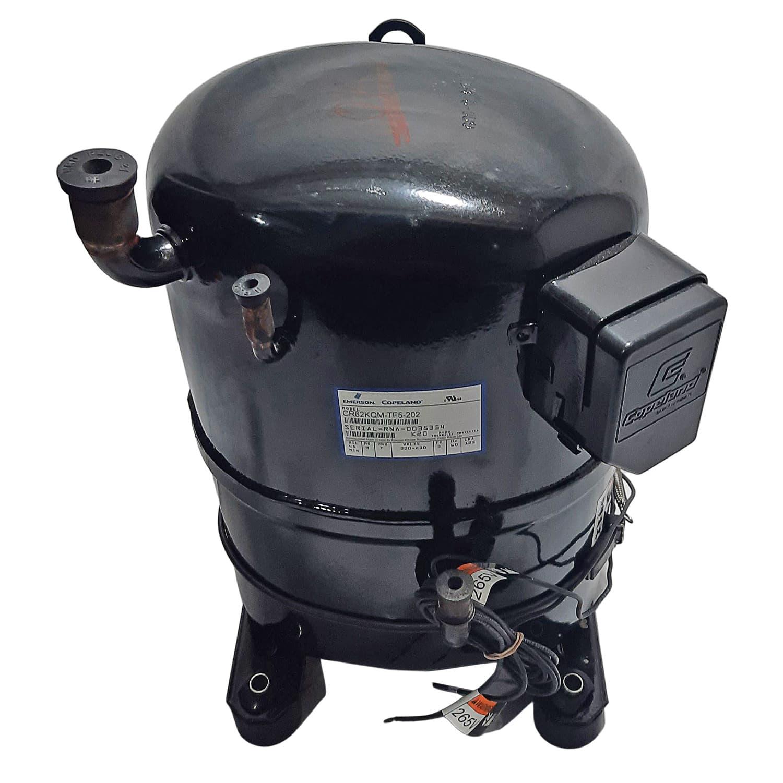 Compressor Hermetico Copeland CR62KQM 5,17hp 220 Trifásico R22