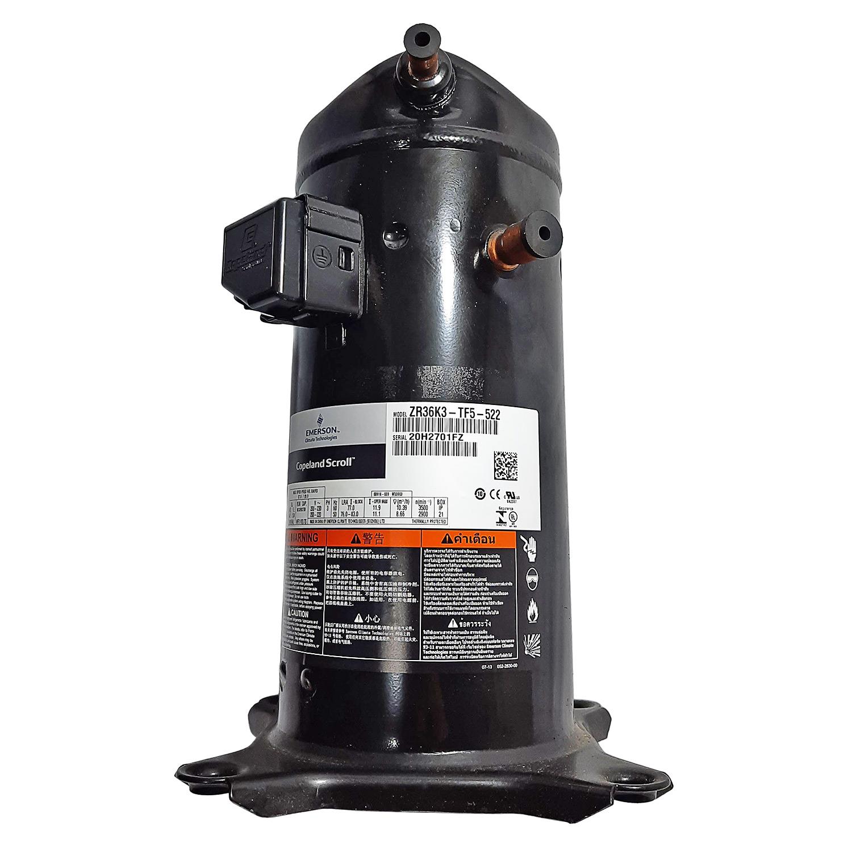 Compressor Scroll Copeland ZR36K3 3hp R22 220v Trifásico