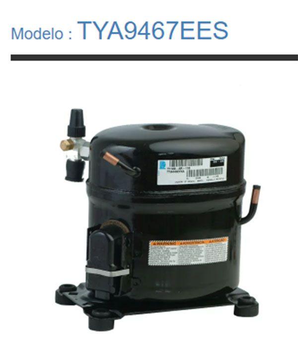 Compressor Tecumseh Potencia 1 1/4hp Tensão 220v/60 Gás R22 Mod. TYA9467EES
