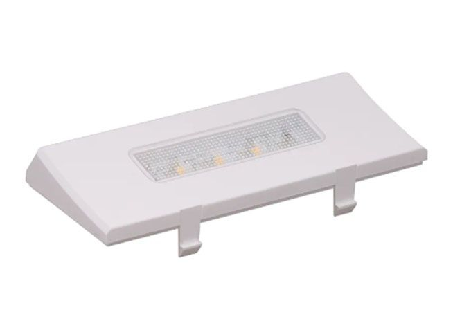Conjunto Lâmpada LED Superior para Geladeira Brastemp - W10436335