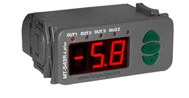 Controlador de Temperatura Digital Para Refrigeração e Degelo com Sensor Full Gauge MT-543Ri PLUS