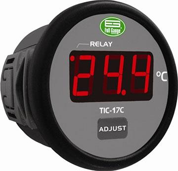Controlador de Temperatura Digital Para Refrigeração e Degelo com Sensor Full Gauge TIC-17C