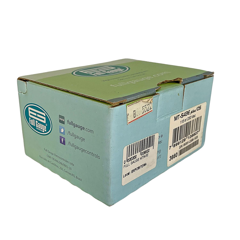 Controlador de Temperatura Digital Refrigeração e Degelo Full Gauge MT-543E PLUS