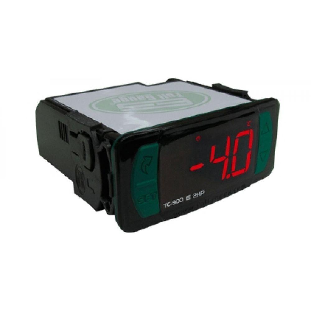 Controlador de Temperatura Para Refrigeração e Degelo com Sensor Full Gauge TC900EL