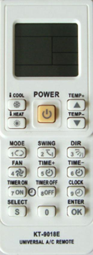 Controle Remoto Universal para Ar Condicionado Split VIX KT-9018E