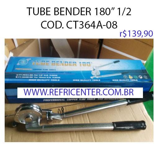 """Curvador De Tubo 180º  1/2"""" TUBE BENDER CT-364A"""