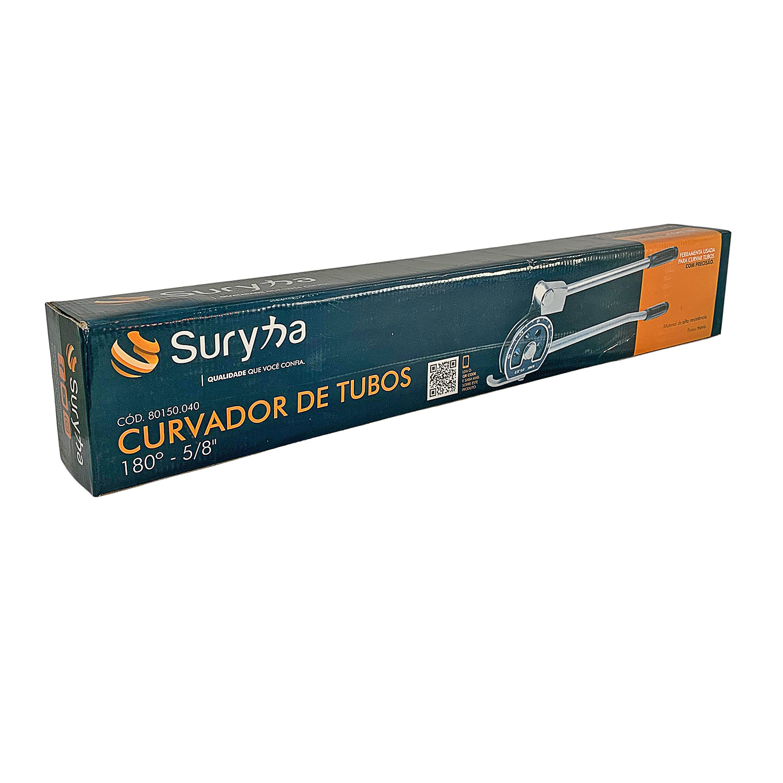 """Curvador De Tubo 180º 5/8"""" Suryha 80150.040"""