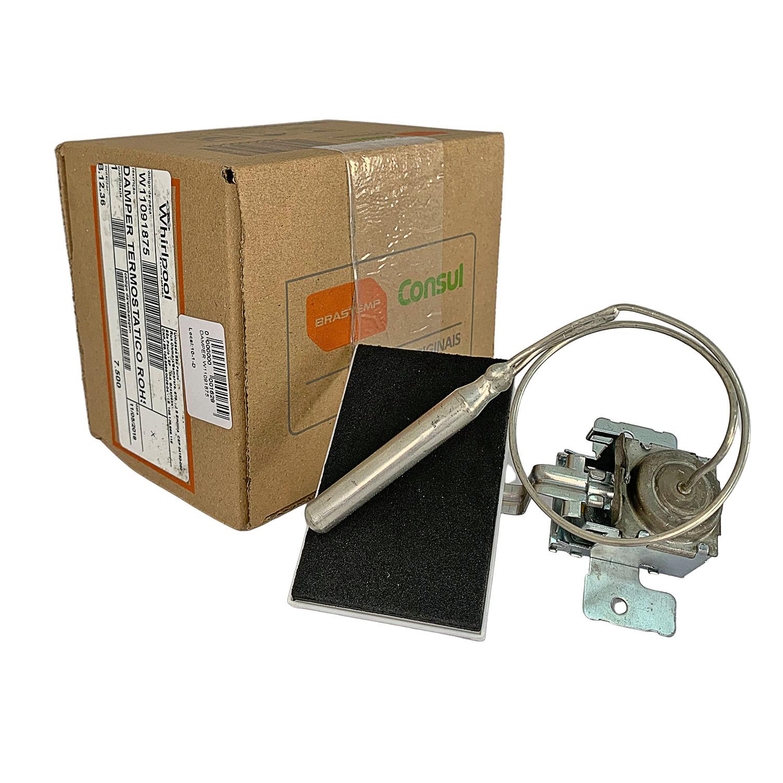 Damper Brast Termostatico 326062640 Use W11091875 Whirlpool Original