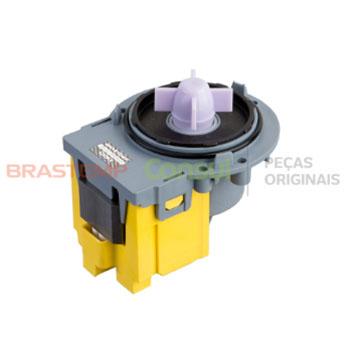 Eletrobomba Universal Sem Carcaça Lavadora Brastemp e Consul 127v Original W10849469