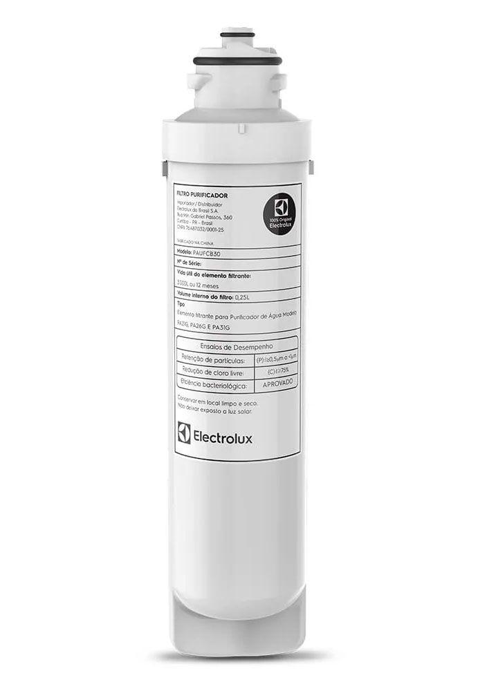 Filtro Refil para Purificador de Água Electrolux  PA21G / PA26G / PA31G  Original 0121