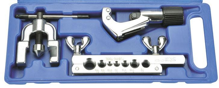 """Flangeador com cortador de cobre CT 1226-AL (3/16"""" a 5/8 """") CT1226-AL"""