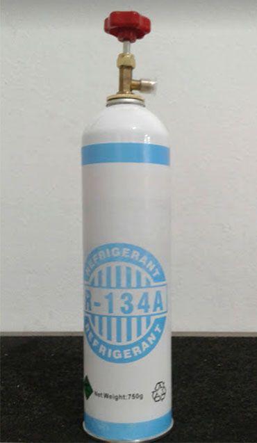 Fluido Refrigerant R134A Cilindro Lata 750gr Com Valvula