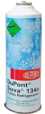 Fluido Refrigerante ou Gás DuPont/Freon  R134A Cilindro Lata 750gr