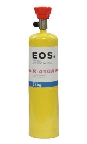 Fluido Refrigerante ou Gás EOS R410A Cilindro Lata 750gr c/ Valvula