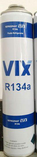 Fluido Refrigerante Vix R134A Cilindro Lata 750gr P/ Unidade.