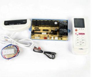 Kit Controle Remoto com Placa Universal Ar Condicionado Split Piso Teto VIX QD-U10A