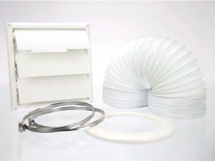 Kit Ventilação P/ Coifa De 12,5 cm de Diametro e Extensível até 3m. Electrolux 80000509
