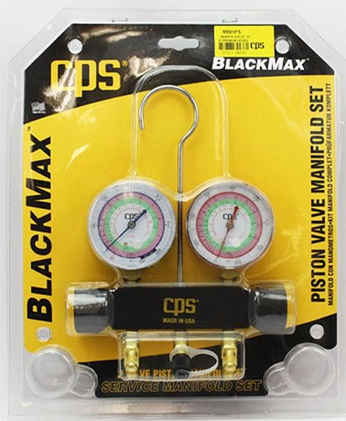 Manifold Para R22 R410 R404 Mangueira 150cm CPS Black Max MBHP5