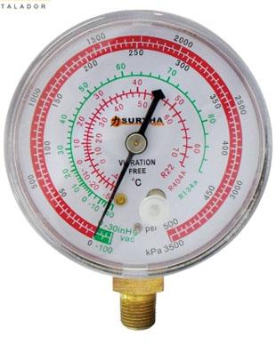 Manômetro De Alta R12/22/134/404 Suryha 80150.002
