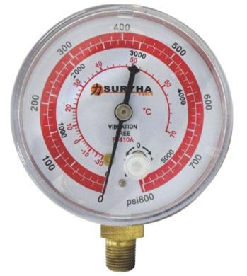Manômetro De Alta R410 Suryha 80150.054