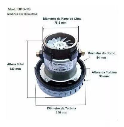 Motor Aspirador Electrolux A10/ Flex 220v Bps1s 64300671