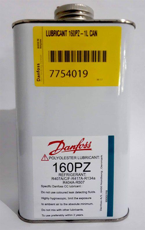Óleo Polyolester Lubrificante Danfoss 160PZ Lata 01 Litro / 7754019