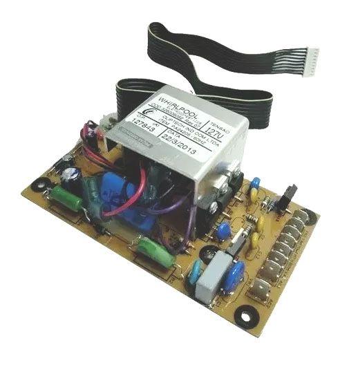 Placa Controle do Timer Lavadora Brastemp 127v.  BWB22A / BWM06A Original 326009082