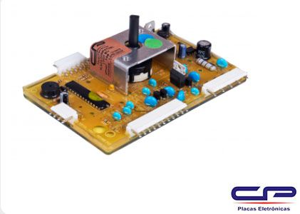 Placa de Potência Lavadora Electrolux CP Eletrônica 0547
