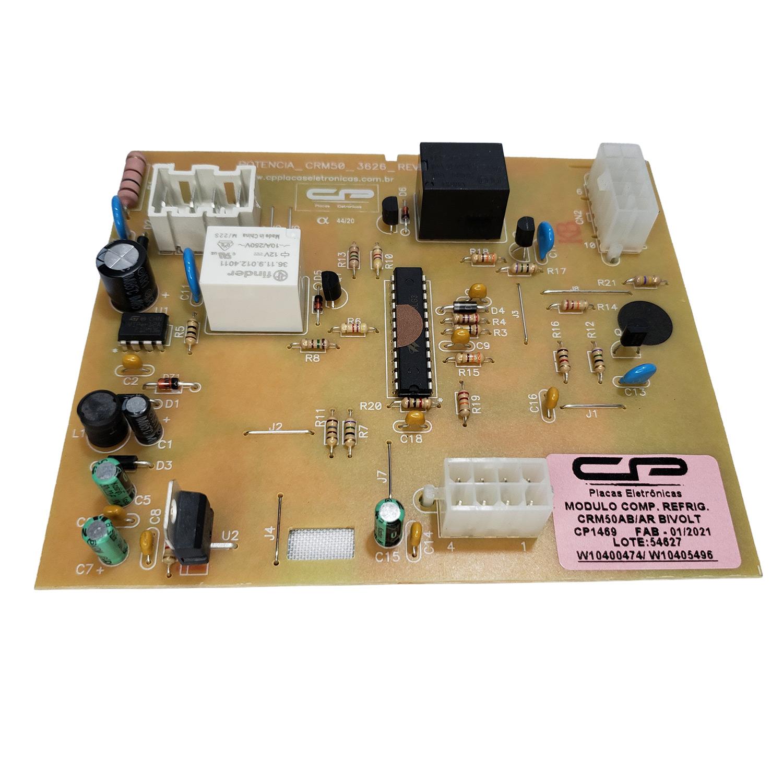Placa de Potência Refrigerador Brastemp CP Eletrônica 1469